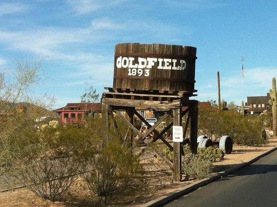 Goldfield Ghost Town: Entrance
