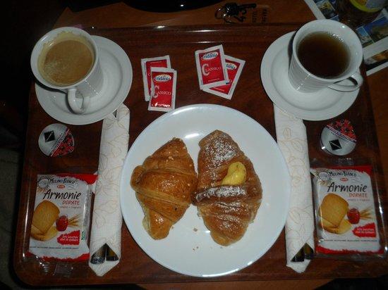 Hotel Ginevra: Petit déjeuner