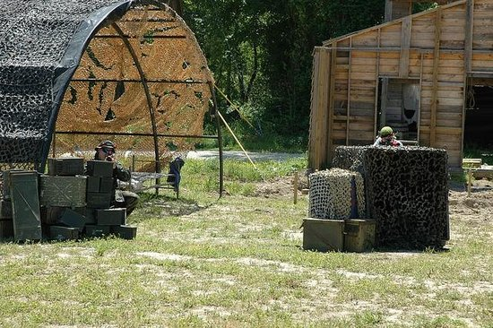 Kersey Valley Laser Tag: Military Arena