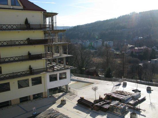 Hotel Golebiewski : Вид из номера