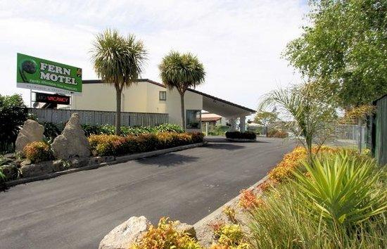 Fern Motel: entrance