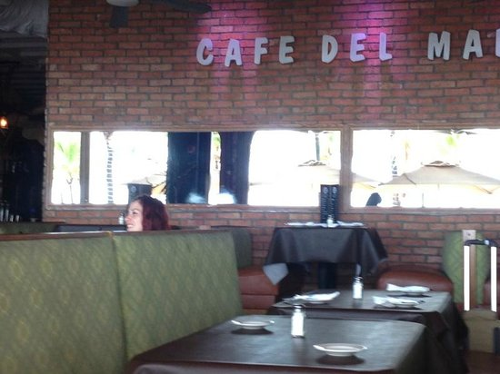 Cafe Del Mar: View of Inside