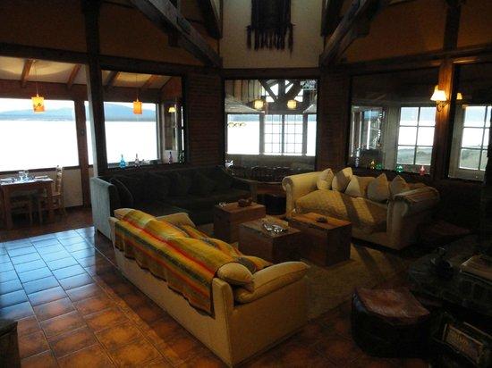 Weskar Patagonian Lodge: Sala de estar