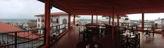 Malindi Guest House: view from the table