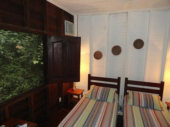 Amazon Ecopark Jungle Lodge:                   Our Room