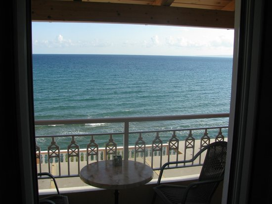 Anemona Beach Hotel : Balcony with perfect sea view
