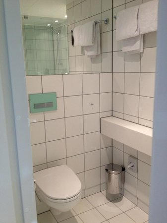 Scandic Vulkan: Nice bathroom!