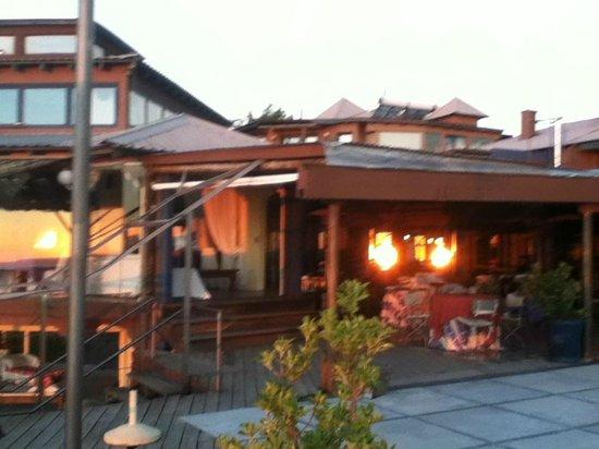 Hotel Art & Spa Las Cumbres: Atardecer en el mirador