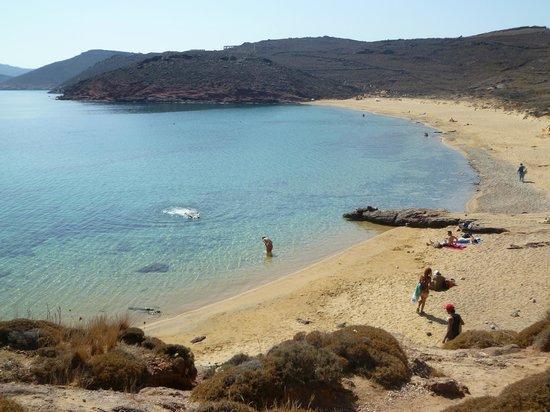 Agios Sostis Beach: la plage d'Agio Sostis