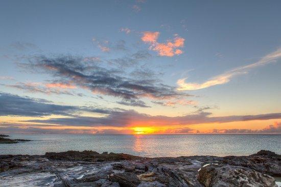 Amanyara: Sunset from Ocean Pavilion