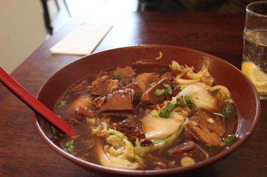 Jinling Noodle Bar: Brisket Udon (Soup)