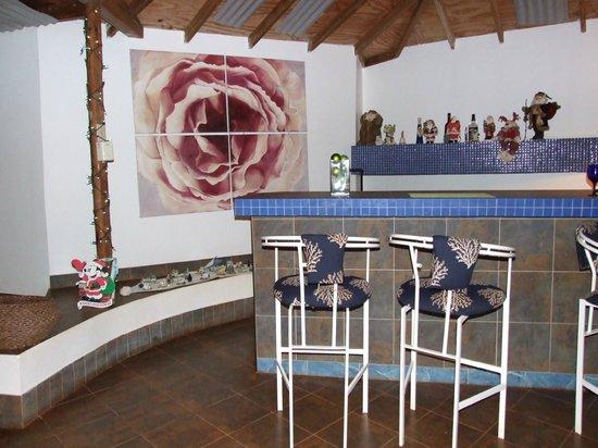 Marblue Villa Suites: Die Bar an Heiligabend