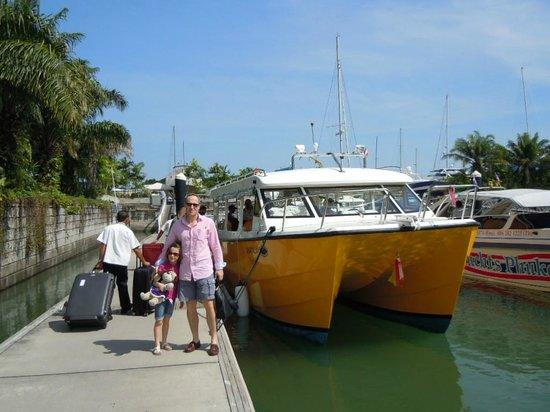 Zeavola Resort : départ de Phuket