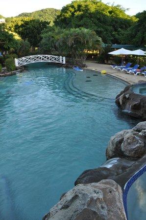 Radisson Grenada Beach Resort:                   The big pool