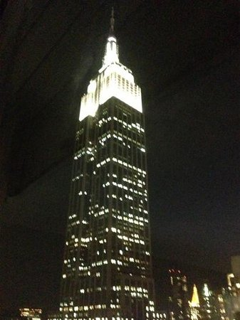 Hilton Garden Inn New York/West 35th Street: Nighttime view from my room.