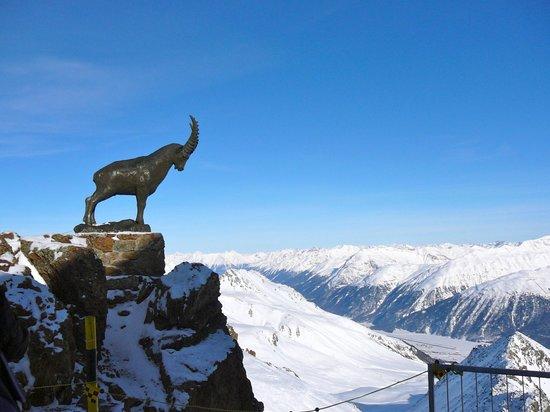 Piz Nair Bergspitze
