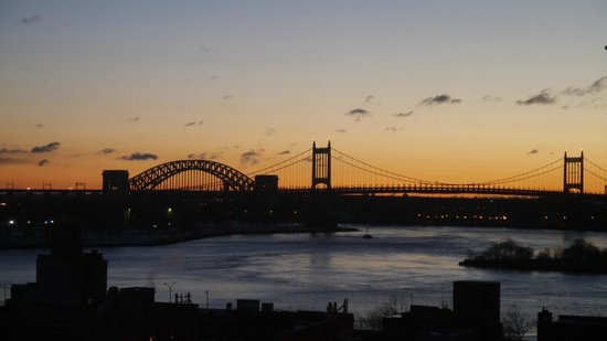 The Marmara Manhattan: View from the Kitchen at sunrise