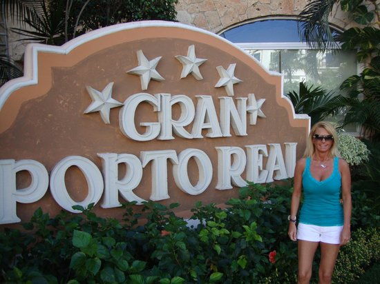 Gran Porto Resort: all the years here and we finally took this picture, ha!