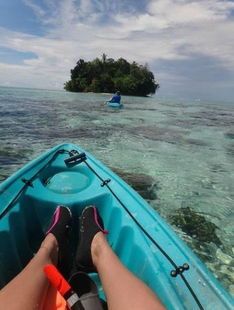 Sanbis Resort: Paddle boat adventures to nearby islands - sanbis