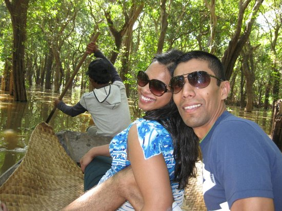 Angkor Holidays Tour: At the flooded Mangrove Forest