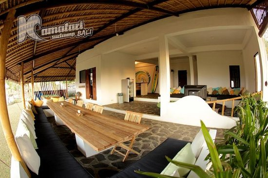 Kamafari Surfcamp: Lounge