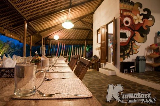 Kamafari Surfcamp: Dinner