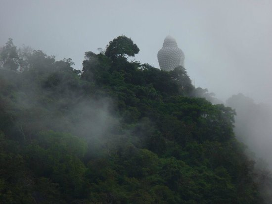Metadee Resort and Villas: View from our room: the Big Buddha