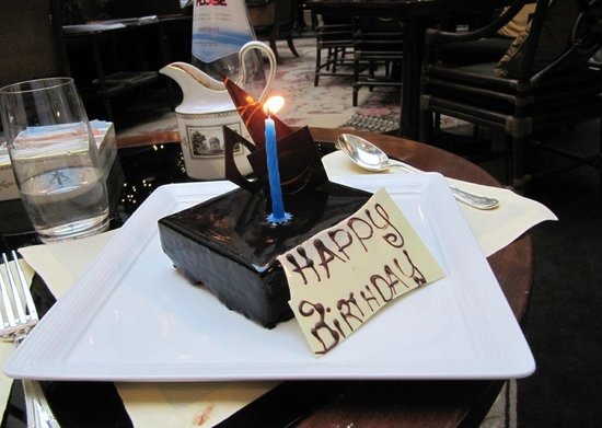 Four Seasons Hotel Firenze: Birthday cake