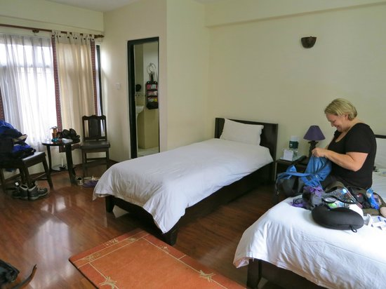 Thamel Eco Resort: Room on 4th floor