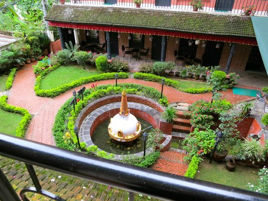 Thamel Eco Resort: Nice quiet courtyard