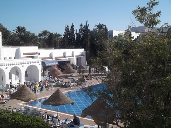 Marhaba Salem: Pool view from room