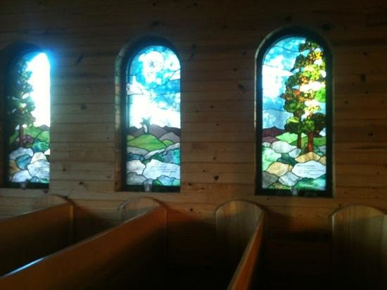 Peaceful Valley Resort and Conference Center: scene from the chapel