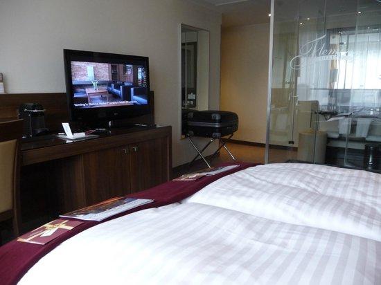 Fleming's Hotel Frankfurt Main-Riverside: Sauber und modern