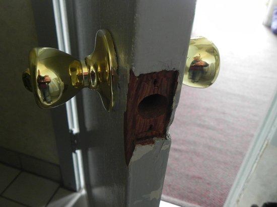 Casa Verde Inn: porta