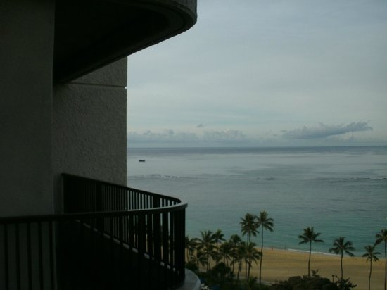 Hale Koa Hotel: Room from the 11th floor