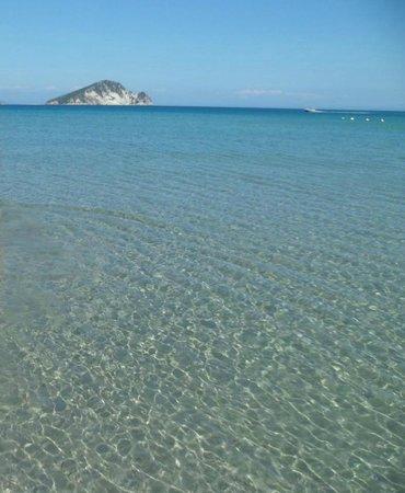 Katerina Palace Hotel: Beach 