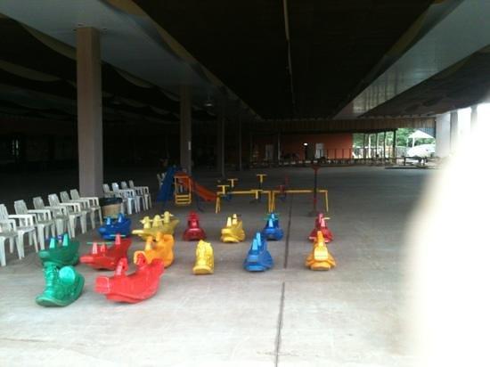 Restaurante da Fazendinha: brinquedos