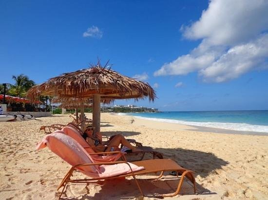 West End Village, Anguilla: frangipani Beach