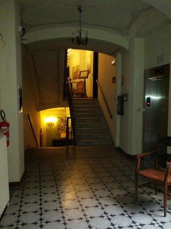 Dogana Vecchia : Corridoio al piano