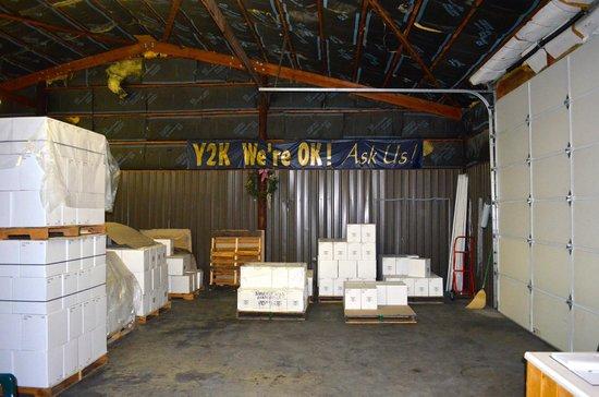 Caparone Winery Decor
