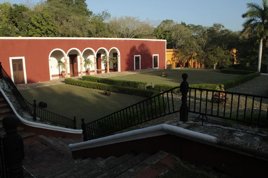Hacienda Temozon, A Luxury Collection Hotel: from the stairs