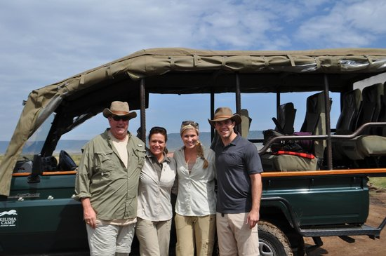Kilima Camp : The vehicles are the best in the Masai Mara