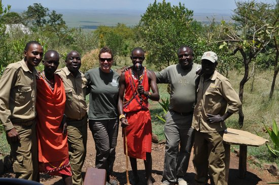 Kilima Camp: Everyone on the staff was knowledgeable, warm, friendly and attentive