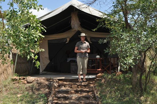 Kilima Camp: The suite tents were spacious, clean, and wonderful