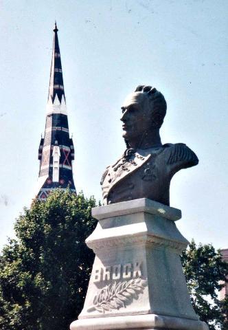 Bust of Gen Brock