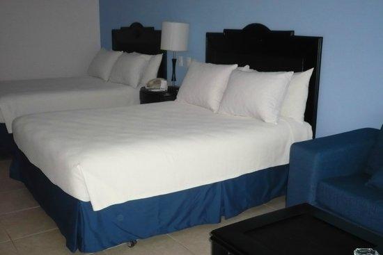 Ocean Blue & Sand : lits Ultra comfortables