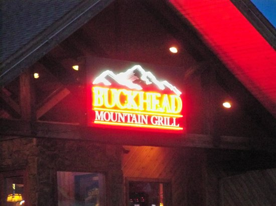 Buckhead Mountain Grill: Front Entrance.
