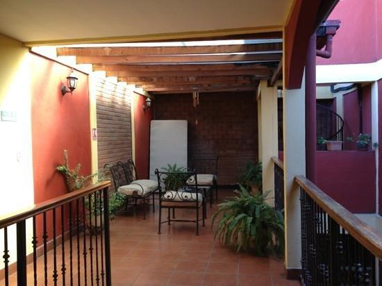 Hotel Casa de Alto : Casa de alto: Patio