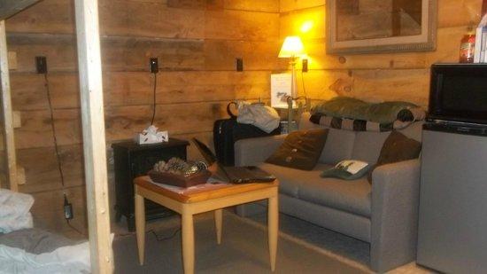 Wellnesste Lodge: Living Area