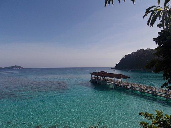 Perhentian Island Resort: spiaggia pehentian island resort